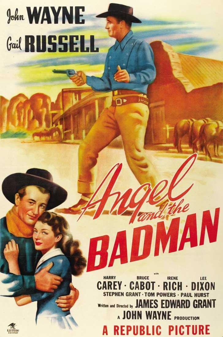 """ver cine clásico """"El angel y el pistolero"""""""
