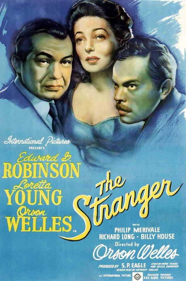 """Películas de cine clásico: """"El extraño"""""""