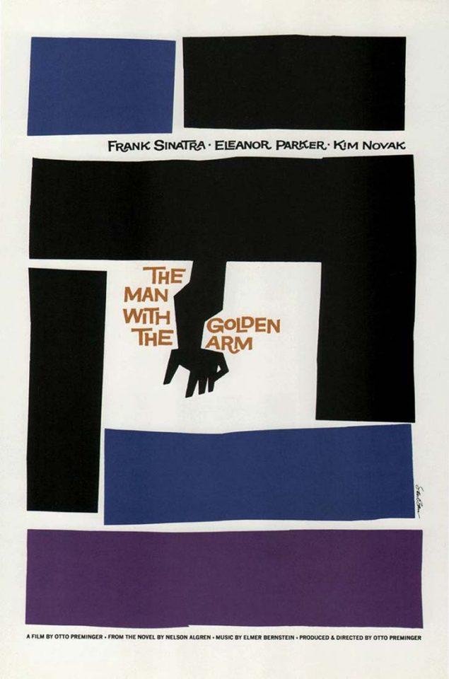 """Distribuidora de películas:"""" El hombre del brazo de oro"""""""