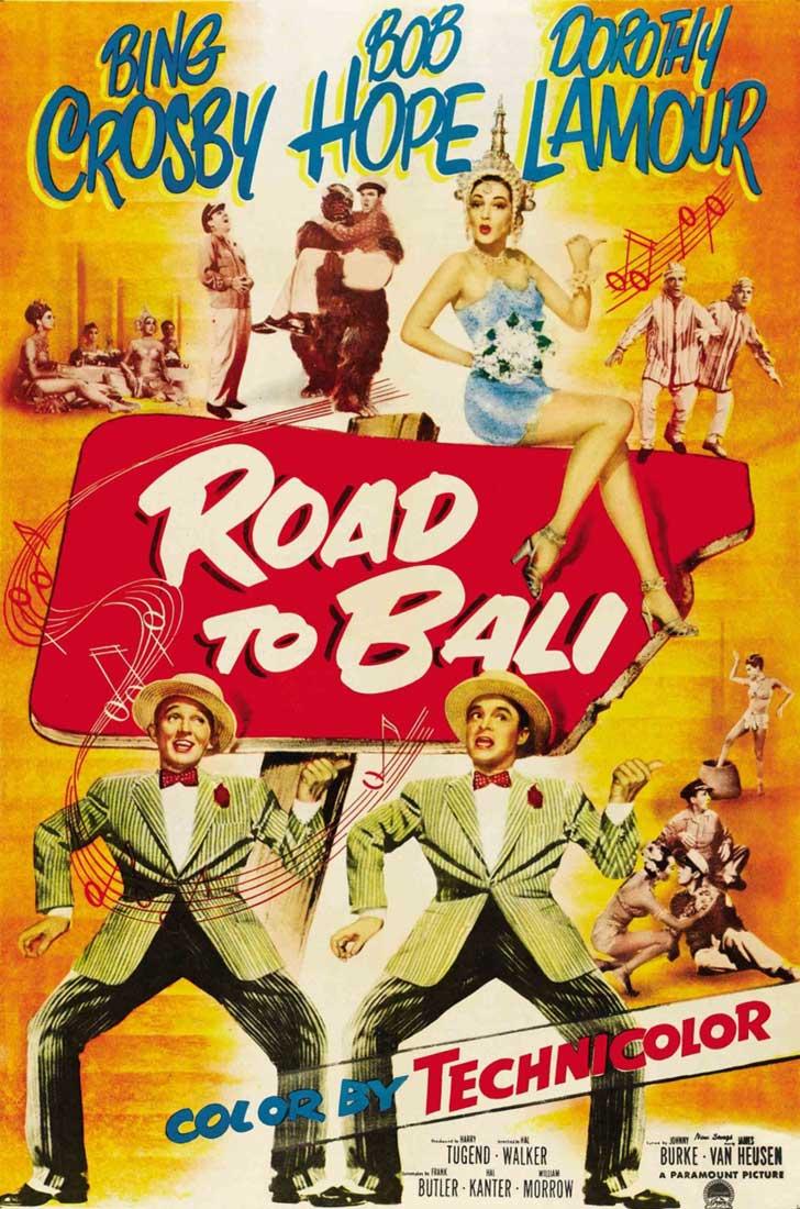 """Películas clásicas restauradas: """"Camino a Bali"""""""