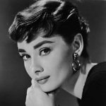 Audrey Hepburn. proyectar cine clásico