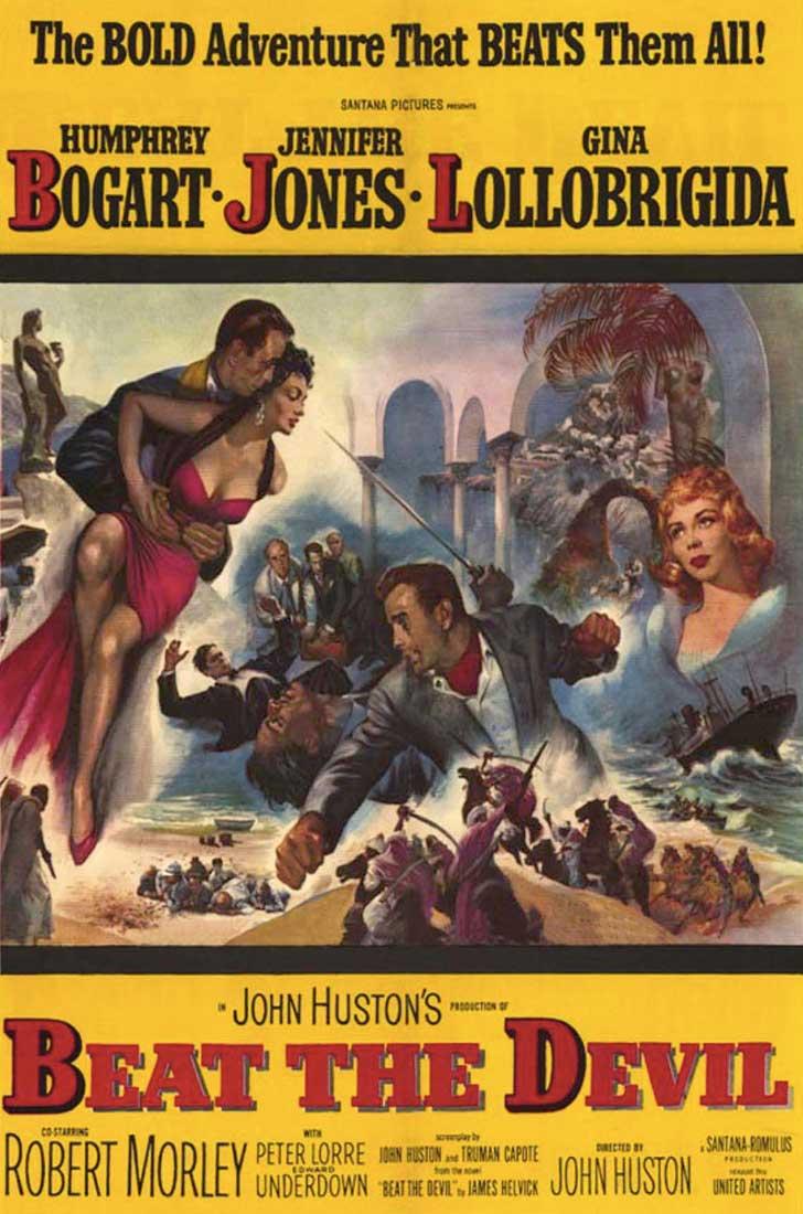 """Proyección de cine clásico, """"La burla del Diablo"""""""
