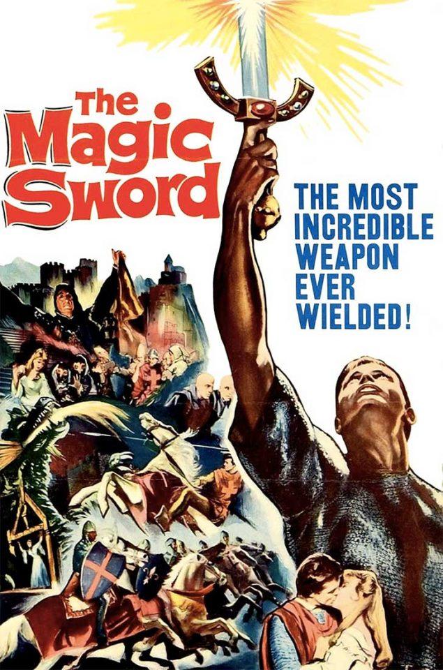 La espada mágica, 1962. peliculas antiguas