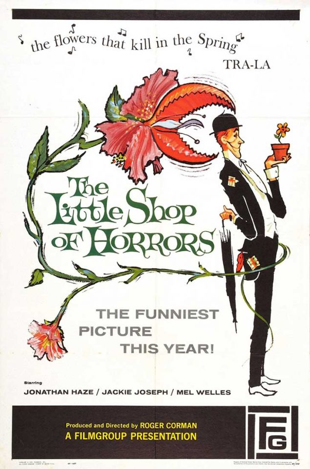 """películas de cine clásico """"La pequeña tienda de los horrores"""""""