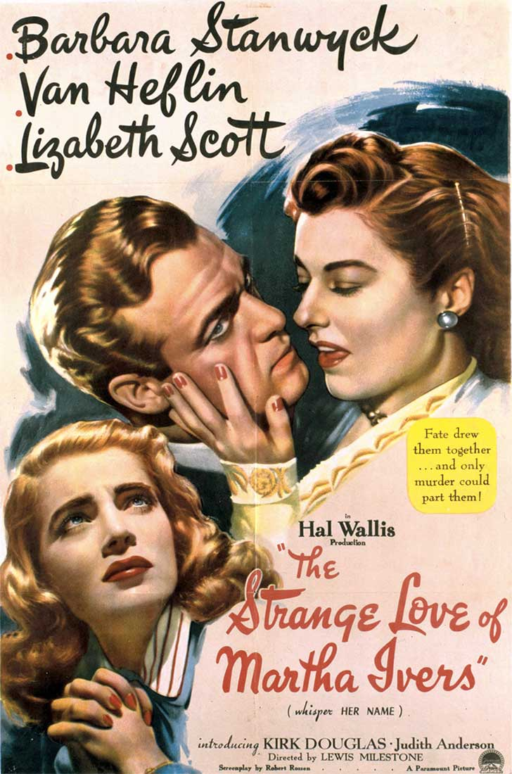 ver cine clásico el extraño amor de Martha Ivers